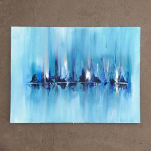 Abstract Skyline on Ice