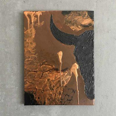 Flip Bull (30×40)