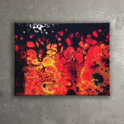 Fluid Fire (30×40)