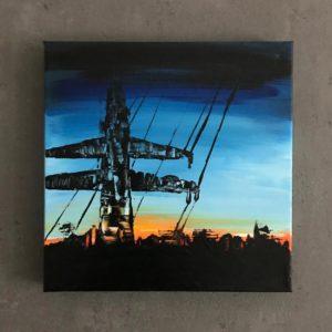 Power Pole in Dawn