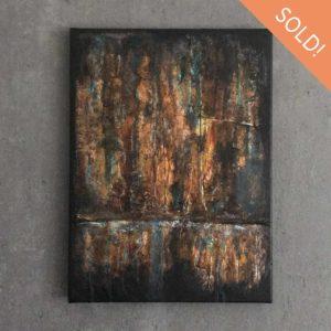Patinosa Abstract Acrylic Painting